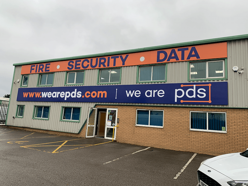 We Are PDS Fascia Signs