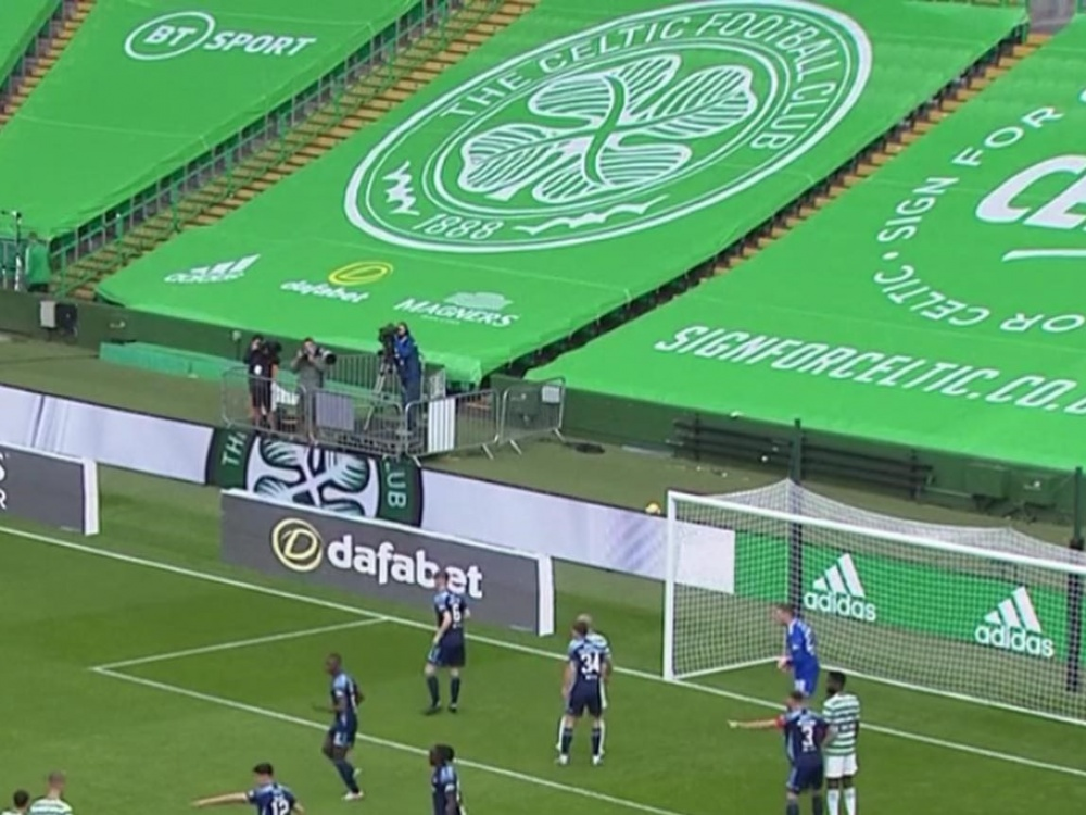 Celtic Park Seating Banners