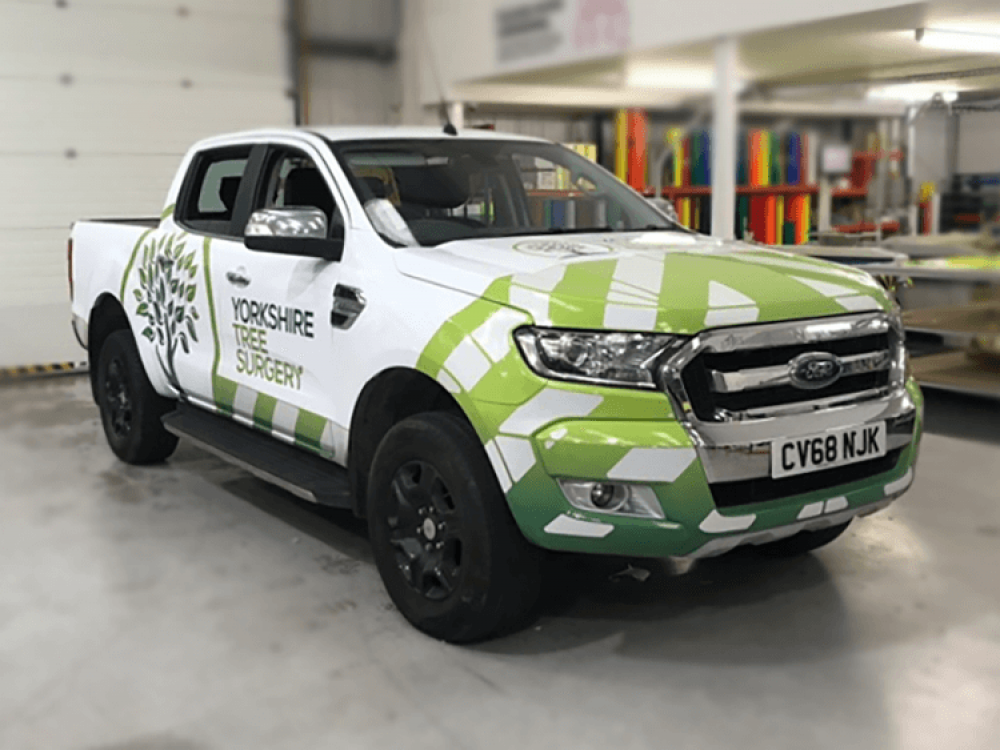Yorkshire Tree Surgery Ford Ranger Wrap