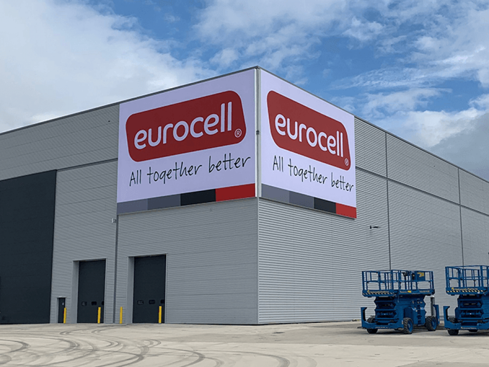 Eurocell Large Flex Face Sign