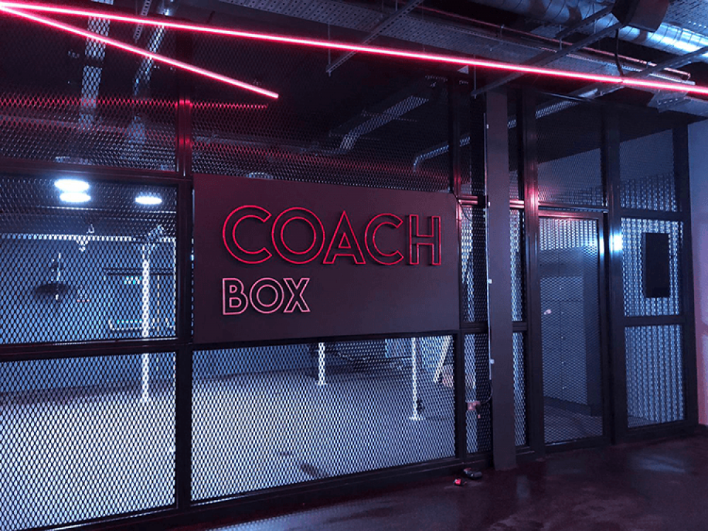Coach Gym Faux Neon Signs