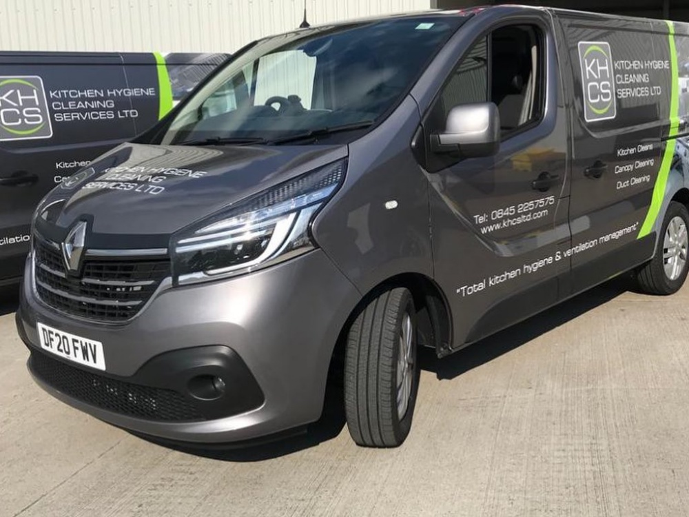 Kitchen Hygiene Cleaning Services Renault Traffic Wrap